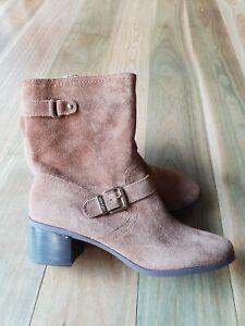 Anne Klein NEW Tan 10 Eu41 Boots