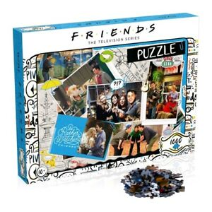 Friends TV Show Scrapbook Jigsaw Puzzle 1000 Piece - Licensed **FREE DELIVERY