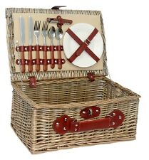 The Uppercrust 2 Person Fitted Picnic Basket
