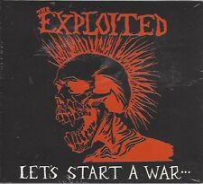 THE EXPLOITED - LETS START A WAR - (still sealed digi-pak cd) - AHOY DPX 603
