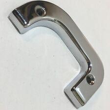 1237230124 Mercedes W123 W126 Left Interior Door Lock Chrome Trim Cover