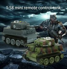 Nano Mini Rc Tank Car Military Wireless Remote Control Toy Kids Gifts