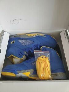 Nike Air Jordan Retro 5 Laney JSP Varsity Maize Size 10