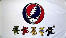 GRATEFUL DEAD 3'X5' Flag/Banner: FAST FREE SHIPPING