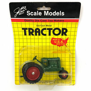 Oliver 80 Row Crop Diecast Tractor 1/32 Scale Green by Scale Models First Edit.