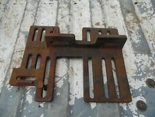 VINTAGE CAST IRON ELECTRIC MOTOR MOUNTING BRACKET PLATE