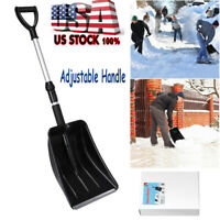 UNOMOR Folding Snow Shovel Collapsible Outdoor Car Compact Shovel Cleaning Tool