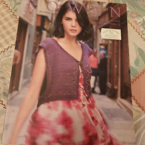 Knitting pattern book - Rowan Knitting & Crochet Magazine number 47 - nearly new