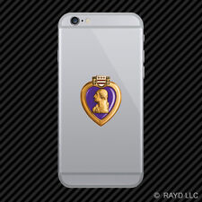 Purple Heart Cell Phone Sticker Mobile military decoration us military
