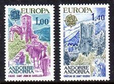 Andorre, French - 1977 Europa Cept Mi. 282-83 MNH