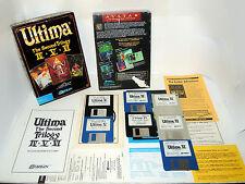 ULTIMA IV V VI TRILOGY 2 complete PC big box videogame Ultima 4 5 6