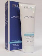 Priori Advanced AHA Invigorating Face & Body Scrub 200ml 6.8fl.oz Brand New