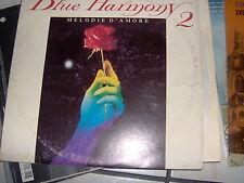 "LP 12"" BLUE HARMONY 2 MELODIE D'AMORE SPOT TV  GIL VENTURA SAX FIVE REC N/MINT"