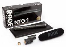 Rode NTG-1 Condenser Shotgun Microphone FREE 20' XLR!
