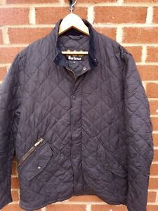 BARBOUR MENS QUILTED PADDED CHELSEA SPORT JACKET MEDIUM MENS