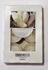 Duftteelicht / Teelichter Magnolie 6 er Packung Kerze von Bolsius