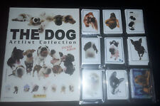 The Dog Artlist Collection-álbum en blanco + completo conjunto de sticker