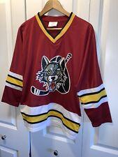 Chicago Wolves AHL Boys Youth Hockey Jersey Size Medium