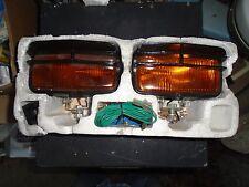 BLAZER/NEVER USED FIRE SALVAGED PAIR LOUVERED AMBER OFF ROAD 50 WATT FOG LIGHTS