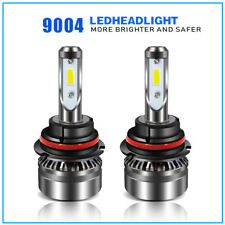 9004 HB1 LED Headlights 60W 12000LM Conversion Bulbs High Low Beam 6500K HID