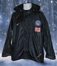 NEU Nike Hertha Berlin Fußball Spieler Ausgabe Regenjacke dunkelblau M