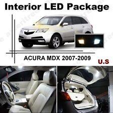 White LED Lights Interior Package Kit for ACURA MDX 2007-2009 ( 19 Pcs )