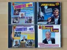 4 x CD, Country Music, Jonny Hill, Bruce Low, TOP !!!