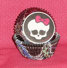 Monsters High Cupcake Papers,Wilton,415-6677,Black,Party,Cake Decorating