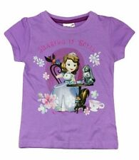 T-shirts et débardeurs violets Disney pour fille de 2 à 16 ans