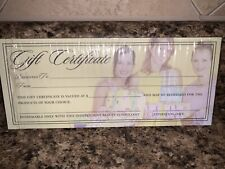 Package of Mary Kay Gift Certificates, Blank, For Consultant Use