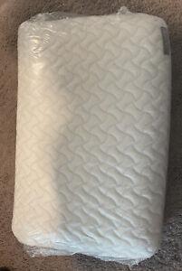 NEW TEMPUR-PEDIC-CLOUD Extra Soft Low Profile + Cooling No Box
