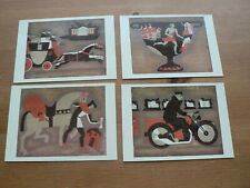 4 x Post Office Archives & Records Centre Postcards: Artwork, Mint