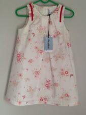 Tartine et Chocolate French Designer Dress Size 2-3 Years BNWT Floral Butterfly