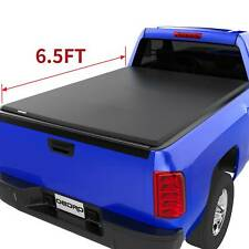 OEDRO 6.5' Soft Roll-up Truck Bed Tonneau Cover for 2014-2018 Silverado/Sierra