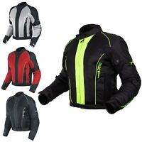 CE Armour Mesh Summer Tex Jacket Apparel Motorcycle Textile Sonicmoto All Sizes