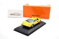 #940103100 - Minichamps Lamborghini Countach LP 400 - Gelb - 1970 - 1:43