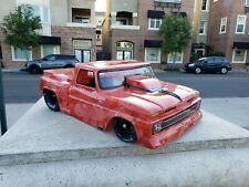 1/8 Custom Paint 1965 C10 Slash SCT 2wd Drag Lipo Body Only Losi DR10 No Prep