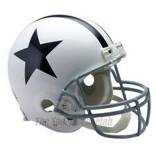 DALLAS COWBOYS 60-63 WHITE THROWBACK NFL AUTHENTIC FOOTBALL HELMET