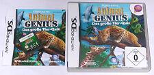 Spiel: ANIMAL GENIUS das GROßE TIERQUIZ für den Nintendo DS + Lite + Dsi + 3DS