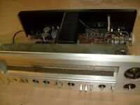Vintage Technics SA-404 AM/FM Stereo Receiver Amplifier - PARTS CHASSIS FRONT