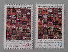 France année 1994 Unesco service 112 113 neuf luxe ** conseil de l'europe