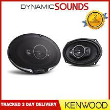 "Kenwood KFC-PS6995 Car Stereo 6""x9"" 1300 Watts 5-Way Rear Door Coaxial Speakers"