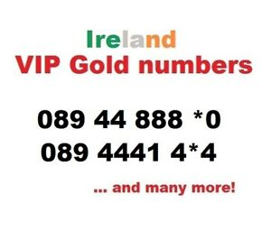 IRELAND: VIP Gold Easy Memorable  Business Mobile Numbers 3G, 4G..