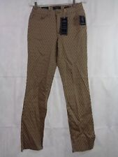 Charter Club Women's Beige Almond Latte Lexington Straight Leg Jeans Size 12 NWT