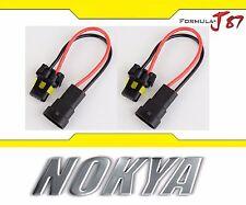 Nokya Wire Harness 9005 HB3 Nok9115 Head Light Bulb Socket Female Male High Beam