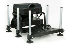 Fox Matrix S36 Superbox Black NEW Match Fishing Seatbox Inc 2x Shallow Tray