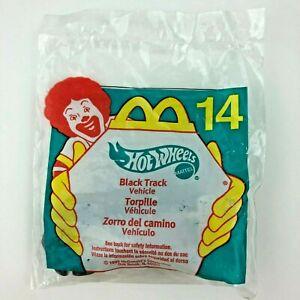 McDonald's 1999 Happy Meal Hot Wheels Black Track Vehicle Car Die Cast 1/64 #14