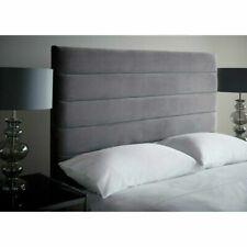 """54"""" Height Floor Standing Upholstered Luxury Plush Velvet Fabric Headboard"""