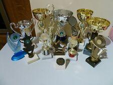 TENNIS TROPHY CUPS BUNDLE - VARIOUS DESIGNS - COLLECTIBLE TROPHY / AWARDS