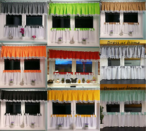 Kitchen set net curtain cafe net curtain various colours modern design guipure